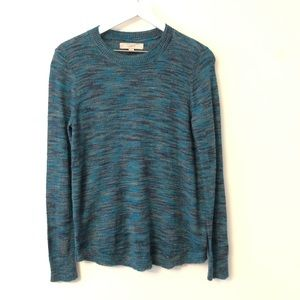 2FOR15 🌴 LOFT Multi Color Knit Sweater LIKE NEW M